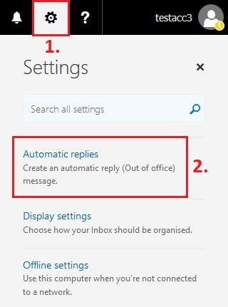 Set Out Of Office In Outlook by Set Automatic Reply Out Of Office Message In Outlook Web