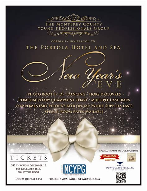 New Years Eve Party Invitations Party Invitations Templates New Years Ticket Template