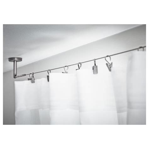 curtain rod ceiling curtains ideas iron ceiling mount curtain rod