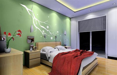 Background Bedroom by Green Background Wall Bedroom 3d House Free 3d House