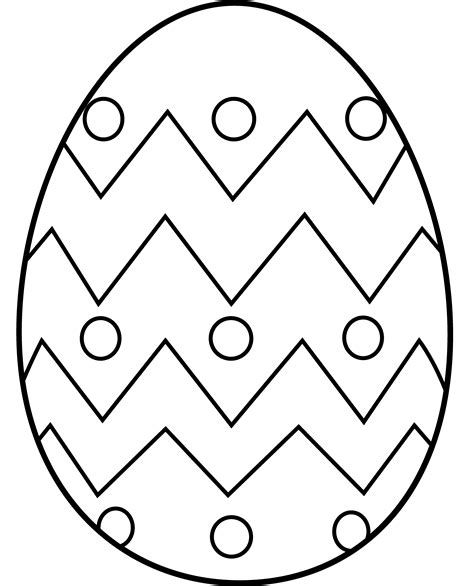 easter egg coloring page easter egg coloring page free clip