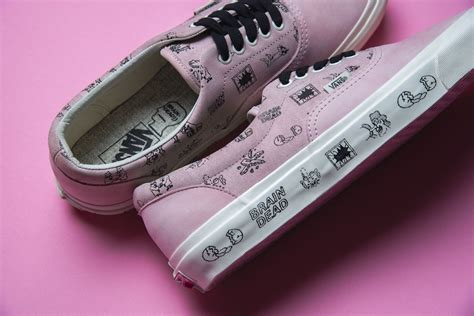 Vans X Brain Deads brain dead x vans vault collection sneakers cartel