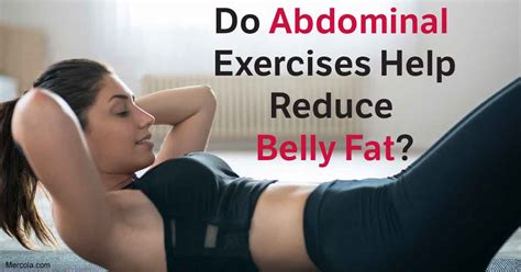 research shows abdominal exercises do not reduce your belly