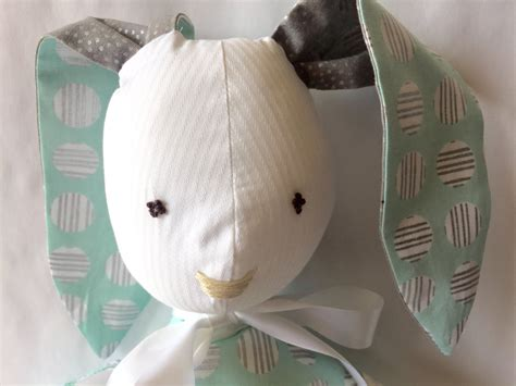 Handmade Stuffed Bunny - handmade stuffed bunny bunny rabbit stuffed rabbit easter