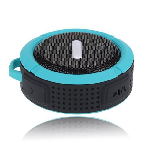 Waterproof Bluetooth Shower Speaker buy waterproof shockproof dustproof bluetooth shower speaker for iphone bazaargadgets