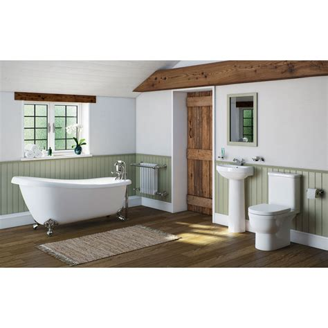 Slipper Bathroom Suites by Deco Bathroom Suite With Slipper Bath Small Victoriaplum