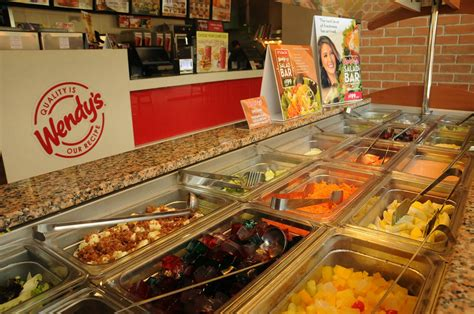 Wendy S Salad Bar Is Back S Buffet