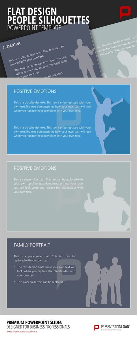 layout body powerpoint 143 best images about flat design powerpoint templates