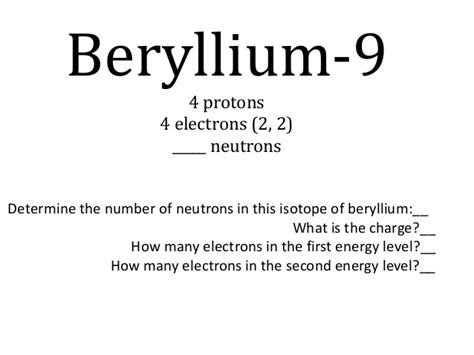 How Many Protons Does Zirconium by Students As Electrons Bohr Models Reduced