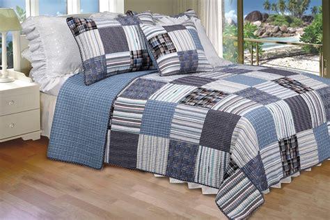 patchwork bedding daniel 100 cotton floral vermicelli quilted patchwork quilt set