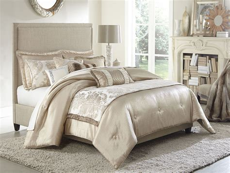 10 piece comforter set king palermo sand 10 piece king comforter set from aico bcs