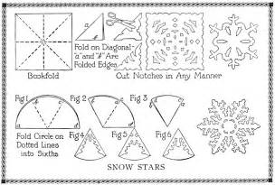 Paper Snowflake Template by Coffee Filter Snowflakes Template Myideasbedroom
