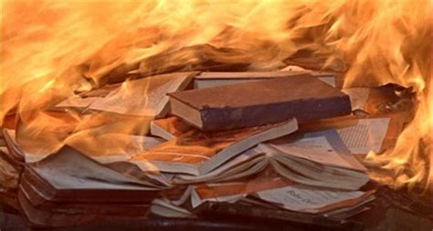 Burning The House Book by Fahrenheit 451 By Bradbury