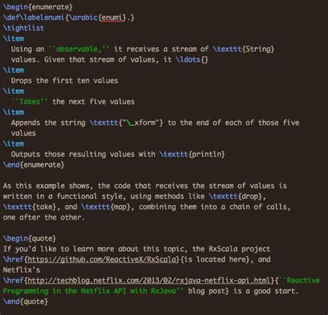 latex tutorial matrix latex and the matrix alvinalexander com