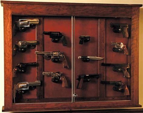 woodloft illinois amish custom crafted pistol display