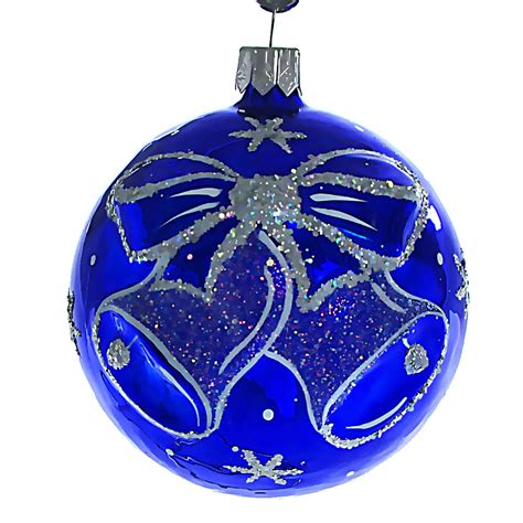 quot jingle bells quot glass christmas ball ornament ebay