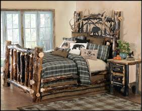 cabin style bedroom decorating theme bedrooms maries manor log cabin