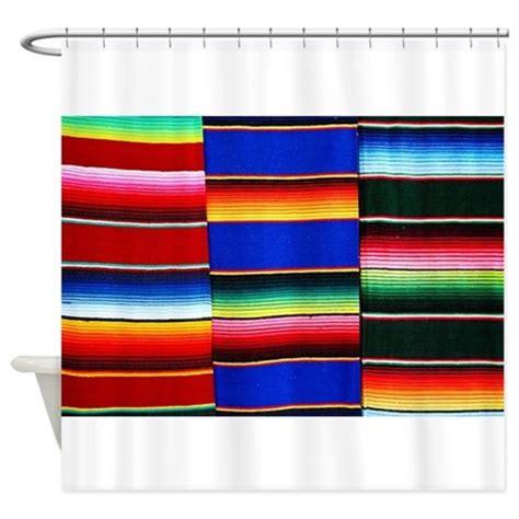 serape curtains serape stripes shower curtain by ibeleiveimages