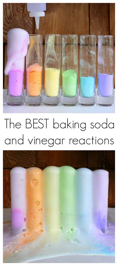 baking soda and vinegar how to get the best baking soda and vinegar reaction