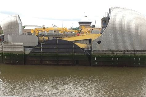 thames barrier used thames barrier called into use news new civil engineer