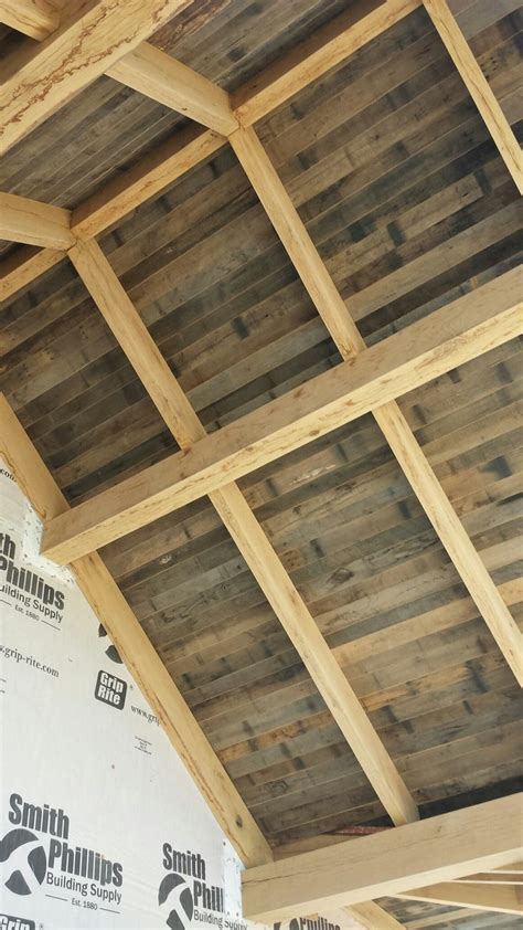 tongue and groove patio ceiling tongue and groove reclaimed barnwood for outdoor patio ceiling image by reclaimed lumber and