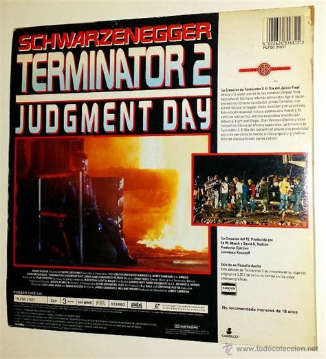 Laser Disc Terminator 2 terminator 2 laser disc edici 243 n especial 2 d comprar en todocoleccion 47070556