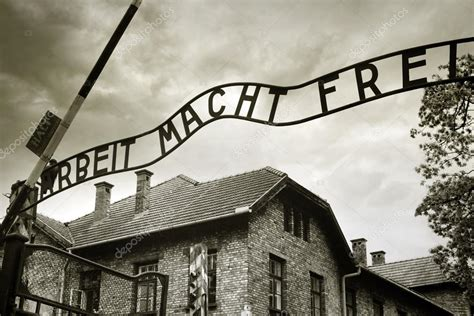 ingresso auschwitz ingresso al co di concentramento di auschwitz foto