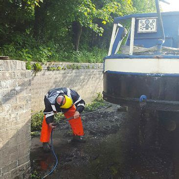 boat jet wash blocked drains cleaning unblocking birmingham walsall