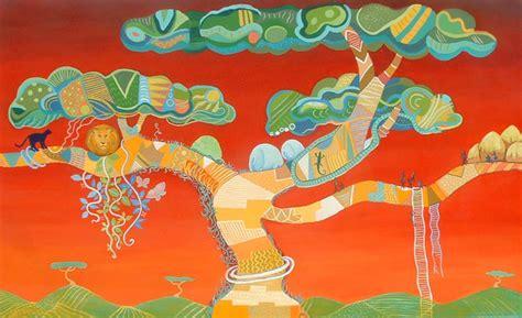 estilo pict rico africano blog de cristina alejos para el 225 rbol africano pintura y artistas