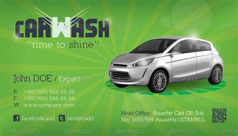 car wash business card template free 19 car wash business card templates free premium
