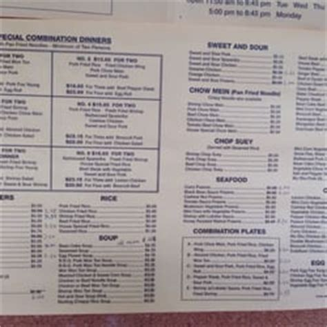 Kowloon Kitchen Menu by Kowloon Kitchen Take Out Almaden Valley Last Updated May