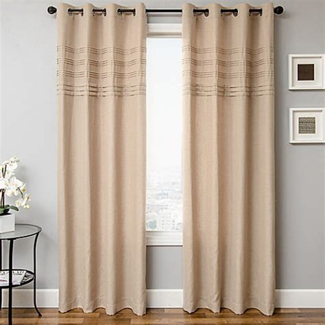84 inch window curtains softline robin 84 inch window curtain panel bed bath