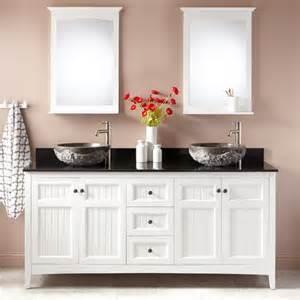 72 Bathroom Vanity Sink White 72 Quot Alvelo Vessel Sink Vanity White Bathroom