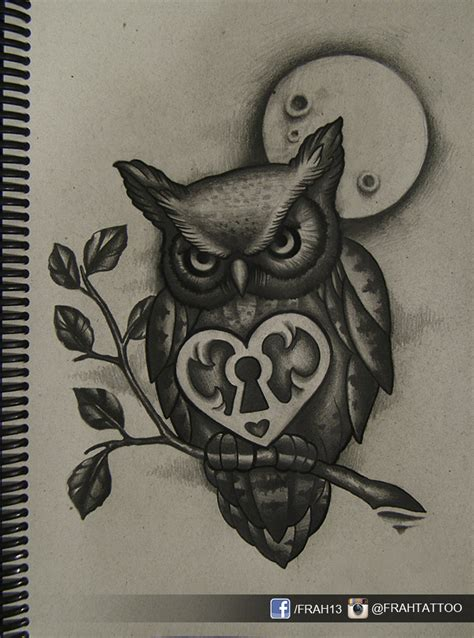 celtic owl and moon by tattoo design on deviantart owl moon 2 by frah on deviantart