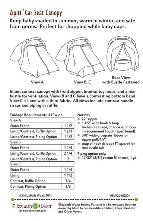 auto car seat cover sewing pattern zipitt car seat canopy sewing pattern fits all baby car