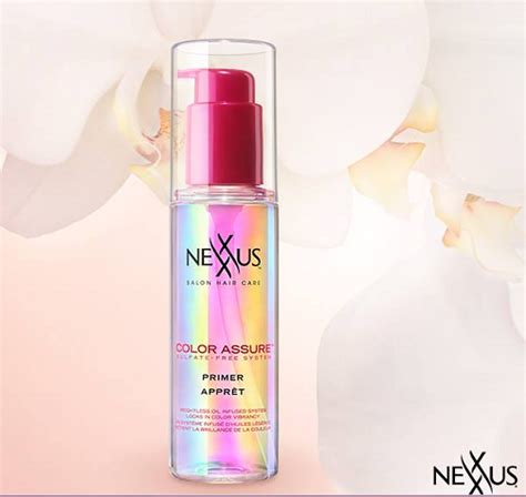 nexxus color assure pre wash primer new nexxus color assure line color assure pre wash