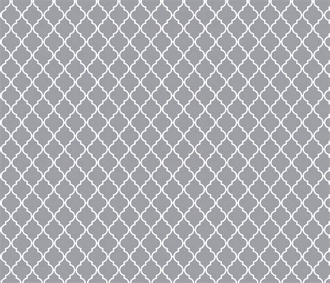 grey navy wallpaper grey quatrefoil fabric mezzime spoonflower