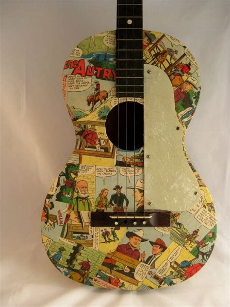 How To Decoupage A Guitar - decoupaged guitar by trashdeco on etsy 60 00 decoupage