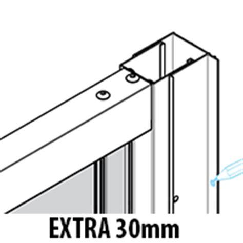 Shower Door Extension Profile by Twyford Es400 900mm Pivot Shower Enclosure Door
