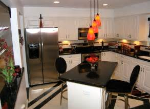 Black White And Red Kitchen Ideas Remodelled Kitchens In Tampa