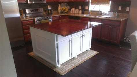 custom built kitchen islands custom made kitchen island by fearons woodworking