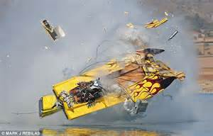 cigarette boat racing flip how did the driver survive this 240mph powerboat smash