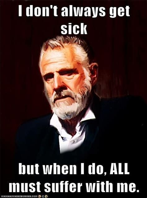 Head Cold Meme - best 25 man cold ideas on pinterest when men are sick