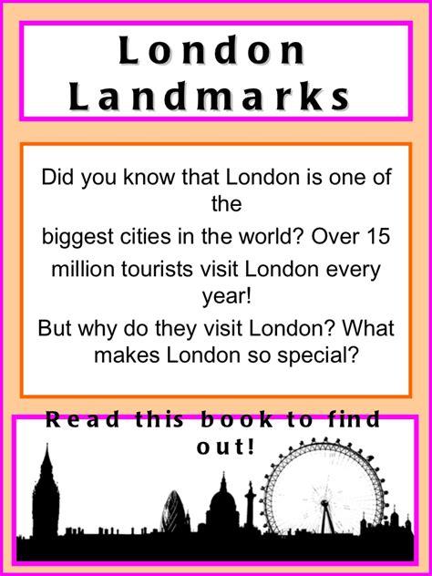 thames barrier worksheet london landmark fact sheets 1