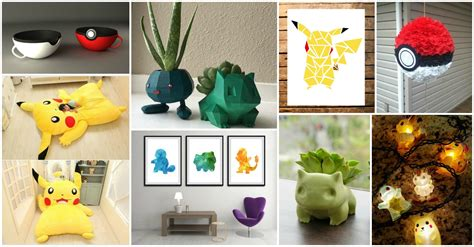 Pokemon Home Decor | adorable pokemon go home decor ideas that will blow your mind