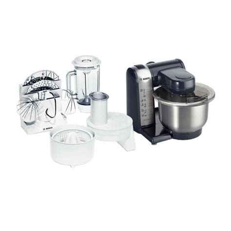 Mixer Bosch Bosch Mum46a1gb Food Processor Mixer Stainless Steel With Accessories Around The Clock Offers