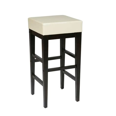 ospdesigns 30 in espresso cushioned bar stool es30vs3cm