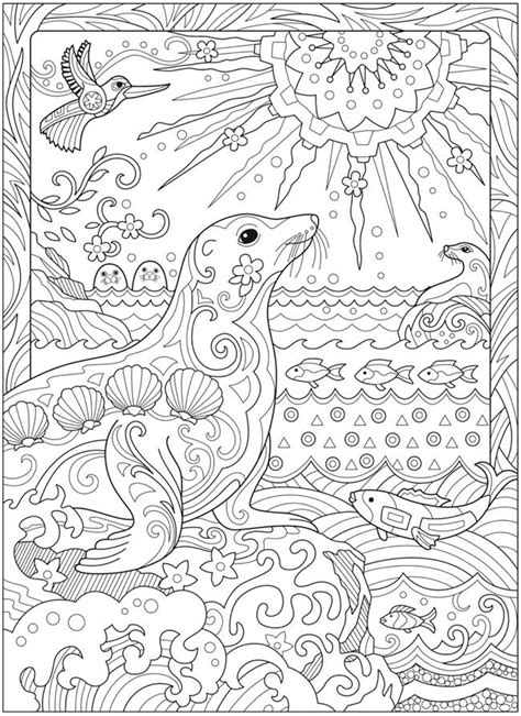1391 best Creative Haven coloring pages By Dover images by