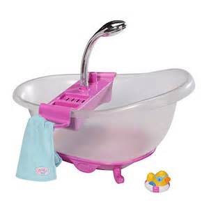 Baby Born Bath With Shower Baby Born Interactive Bath Tub The Entertainer The