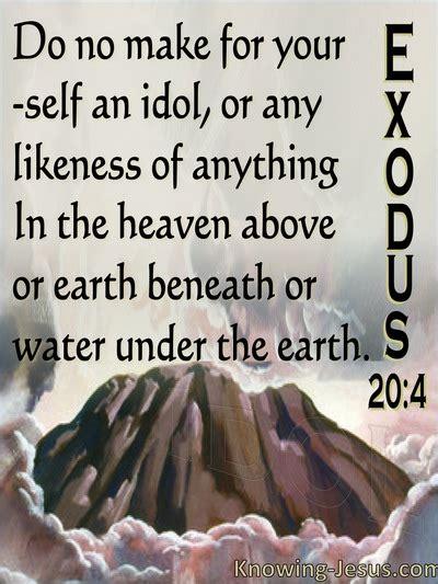 bible verses  idolatry